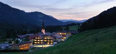 Hubertus Alpin Lodge & Spa - Sommernacht
