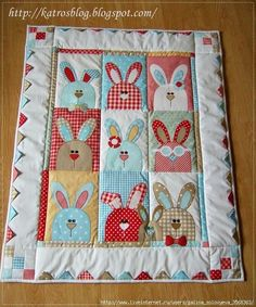 Baby quilt idea by Cloud9