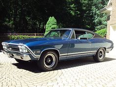 Chevelle SS Coupe GORGEOUS 1968 Chevelle SS 396 4 Speed