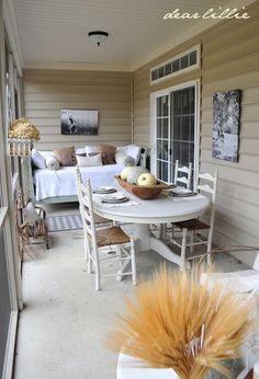 Thanksgiving Porch by Dear Lillie