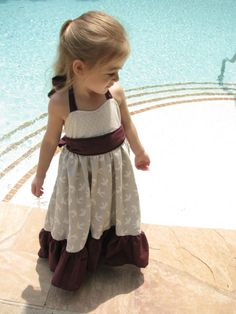 Toddler Sparrow Maxi Dress