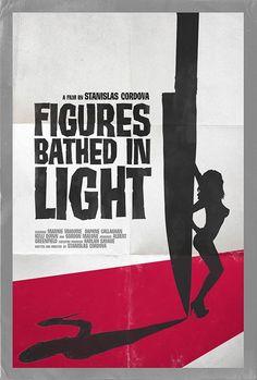 "Fake posters for Stanislas Cordova's films in the novel ""Night Film."" Brilliant!"