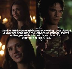 """""""I wanted to thank you""""... This scene had me sobbing right on with Elena :'("""