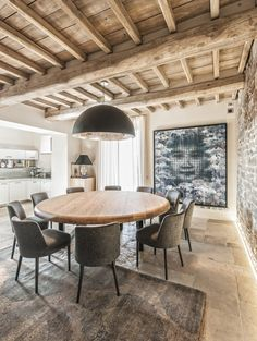 Tuscan style – Mediterranean Home Decor Luxury Homes Interior, Home Interior Design, Luxury Decor, Deco Restaurant, French Style Homes, Mediterranean Home Decor, Tuscan Style, Stone Houses, Rustic Interiors