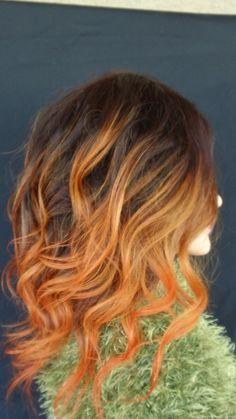 orange crush ombre