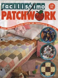Archivio album Book Crafts, Craft Books, Web Gallery, Book Quilt, Book And Magazine, Free Sewing, Crafty, Toddler Bed, Applique