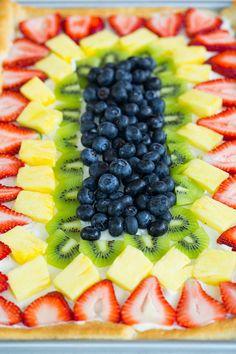 Fruit Pizza - Brown Eyed Baker - A Food & Cooking Blog