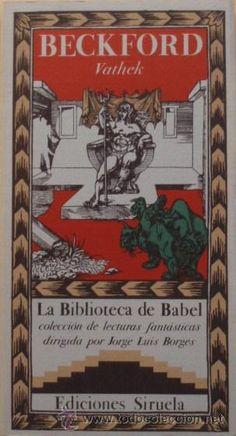 Vathek de William Beckford - La Biblioteca de Babel
