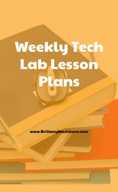 """The question comes up in the Technology Teacher Tribe Facebook Group again and again. """"What are you teaching to {insert grade level here} right now?""""  So, I put together weekly plans for the tech lab for grades K-5. These plans include everything you need so that the planning is done for you. Second Grade Teacher, First Grade Teachers, Kindergarten Teachers, Computer Lab Classroom, Technology Lessons, Lab Tech, Fifth Grade, Educational Technology, Lesson Plans"""