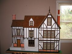 Dollhouse Model Home Architectural Model Home | eBay