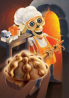 DIA DE LOS MUERTOS/DAY OF THE DEAD~papel picado panadero
