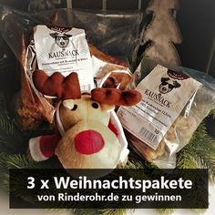 13. Dezember – 3 x Weihnachtspaket von Rinderohr.de zu gewinnen