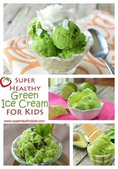6 Super Healthy Green Ice Creams for Kids | Healthy Ideas for Kids