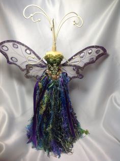 a beautiful fairy jewelry holder by cookies8487 on Etsy, $65.00