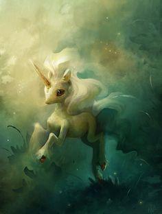 Adorable unicorn by heathersketcheroos.tumblr.com
