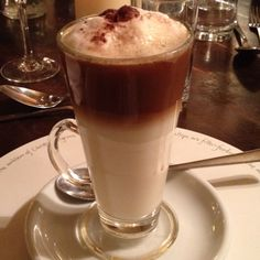 Latte time Coffee Latte, My Coffee, Family Recipes, Family Meals, Tea, Chocolate, Tableware, Dinnerware, My Coffee Shop