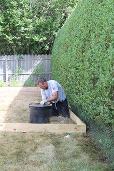 Create A DIY Pea Gravel Patio The Easy Way