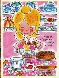 Blond Amsterdam ook sieraad van gemaakt...
