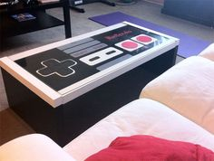 We have featured a few different coffee tables here at Geeky Gadgets, including quite a few different NES Coffee tables, and now we have this cool custom NES coffee table that you can actually buy.