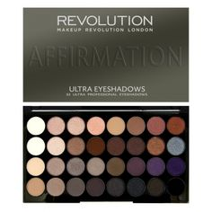 Makeup Revolution Ultra Eyeshadows Palette paleta 32 cieni do powiek Affirmation http://www.perfumesco.pl/makeup-revolution-ultra-eyeshadows-palette-(w)-paleta-32-cieni-do-powiek-affirmation-30g