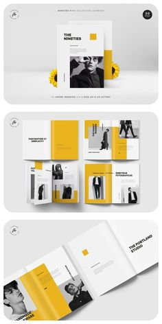 NINETIES Mens Collection Catalog (30 pages) Page Layout Design, Magazine Layout Design, Magazine Layouts, Mise En Page Lookbook, Product Catalog Template, Product Catalog Design, Catalogue Layout, Catalogue Design, Lookbook Layout