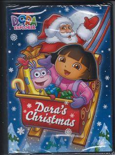 Santa Claus Dora the Explorer Dora's Christmas DVD Holiday Stocking Stuffer Gift