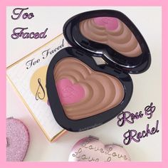 Too Faced Soul Mates Blushing Bronzer Too Faced Soul Mates - Ross & Rachel. Bronzer & blush: the power couple of beauty. The duo made in makeup heaven adds warmth, contour & a pop of color for the radiant look of true love.  BNIB. Never used or swatched. 100% Authentic. No Trades, No PP. Price Firm. Too Faced Makeup Bronzer