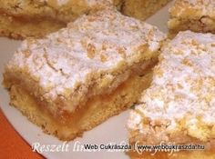 Hungarian Cuisine, Hungarian Recipes, Hungarian Cake, Hungarian Food, My Recipes, Cooking Recipes, Biscotti, French Toast, Deserts