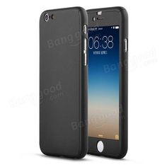 Luxury Hybrid Tempered Glass Acrylic Full Hard Protective Case Cover For iPhone 6 Plus 6S Plus 5.5 inch Sale - Banggood.com