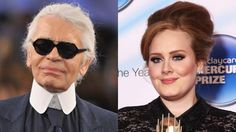 Karl Lagerfeld Attempts To Take Credit For Adeles Weight Loss