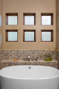 freestanding tub with deck mount faucet. Tub with built in shelf  wall for plumbing semi free standing bathtub mounts flush to the space saving