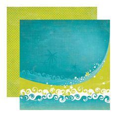 Echo Park - Paradise Beach Collection - 12 x 12 Double Sided Paper - Ride the Wave at Scrapbook.com $0.89