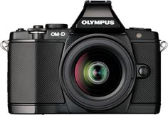 Olympus OM-D E-M5 camera - just bought one!