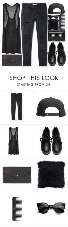 """""""untitled #238"""" by hanadarkos ❤ liked on Polyvore featuring MANGO, Tavik Swimwear, T By Alexander Wang, Double Oak Mills, CASSETTE and Sephora Collection"""