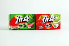 First Twist Gum #packaging #design
