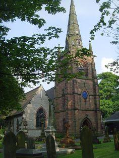 St Margarets parish Church, Great Barr, England, Taken last Summer