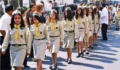 Orthodox Christian Girl Scouts from Israel World Thinking Day, Girl Thinking, Gs World, Girl Scout Uniform, Christian Girls, Orthodox Christianity, Scouting, Girl Scouts, Israel