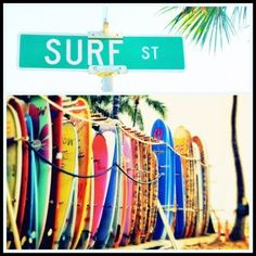 Wish I could go there....... If only, if only(: Even though I don't know how to surf, it still makes me happy thinking I can!!