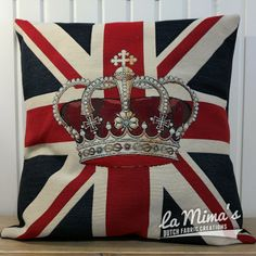 SOLD OUT! - Cushion Cover London Crown