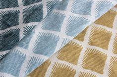 Carleton V Ruhlmann- Neptune, Celestial Blue, Midas  #carletonv #fabric #textiles #design