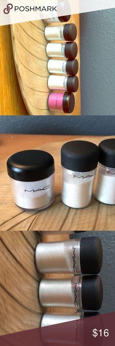 Mac Cosmetics glitters💥 6 available!