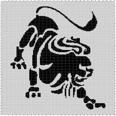 Löwe (150x200)