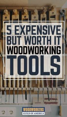 "I've acquired my woodworking tools as I can afford them. The tools in this list might seem expensive, quirky, and even redundant, but stay with me and I'll prove their worth. Believe me, now that these woodworking tools are in my shop, I wish I'd invested in them earlier. So don't wait until you're setting up your 'retirement dream shop' before filling your toolbox with my ""Top 5."""