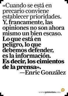 La frase del lunes, por Enric González