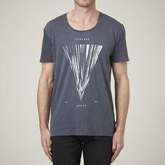 TUNELESS DROP BACK T-SHIRT REVERSE BLACK | Lee Jeans Australia