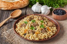 13 Easy, Tasty Ways to Eat Brown Rice Spiced Rice, Iftar, Food Menu, Brown Rice, Nasi Goreng, Eating Habits, Side Dishes, Healthy Eating, Tasty