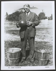 #tbt: that time all the way back in 1891 when Dr. James Naismith invented the game of #BASKETBALL!