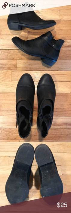 Mossimo Black Ankle Booties size 8 Mossimo Black Ankle Booties size 8 Mossimo Supply Co. Shoes Ankle Boots & Booties