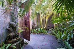 love the private garden