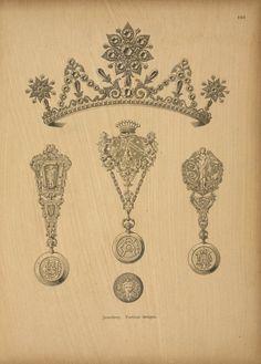 Jewellery. Parisian design.